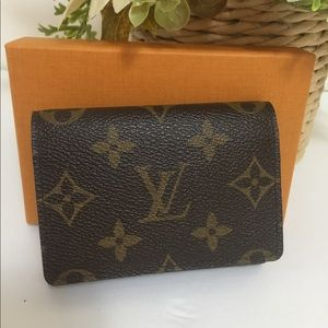 Louis Vuitton envelope card holder